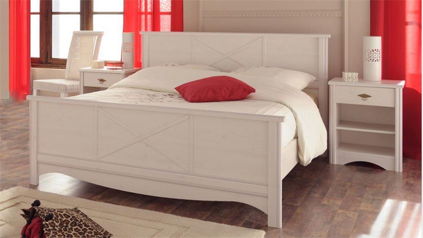 Schlafzimmerset MARION 8 Kiefer Nachbildung Parisot 4tlg