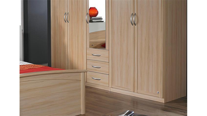 kleiderschrank catania buche natur 226 cm. Black Bedroom Furniture Sets. Home Design Ideas