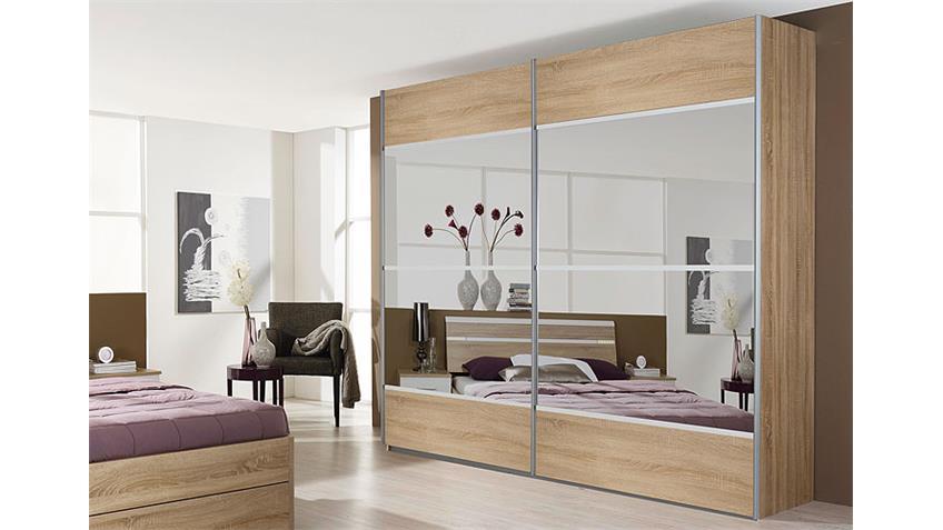 schwebet renschrank rasa sonoma eiche wei 226 cm. Black Bedroom Furniture Sets. Home Design Ideas