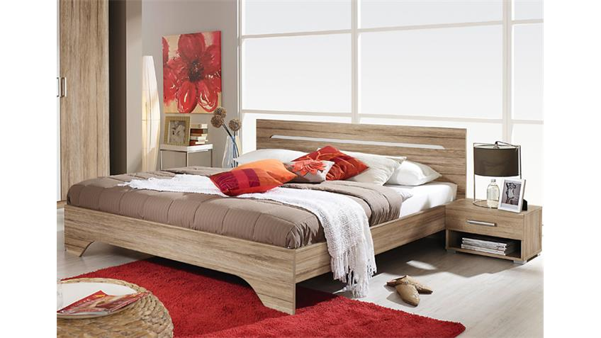schlafzimmerset rubi schlafzimmer in eiche sanremo hell. Black Bedroom Furniture Sets. Home Design Ideas