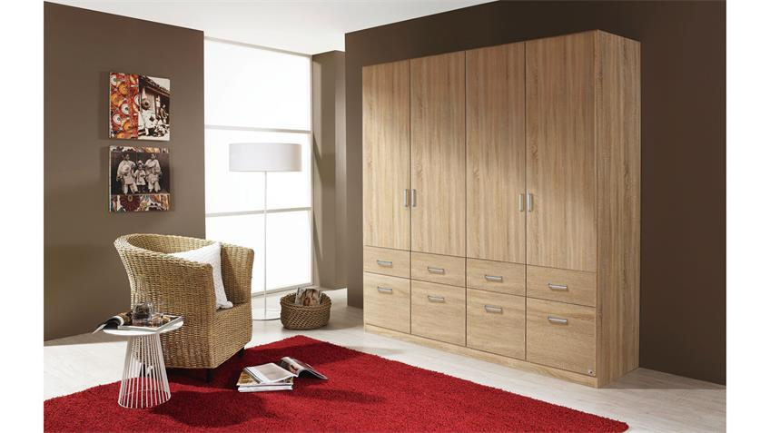 kleiderschrank aalen sonoma eiche 181 cm. Black Bedroom Furniture Sets. Home Design Ideas