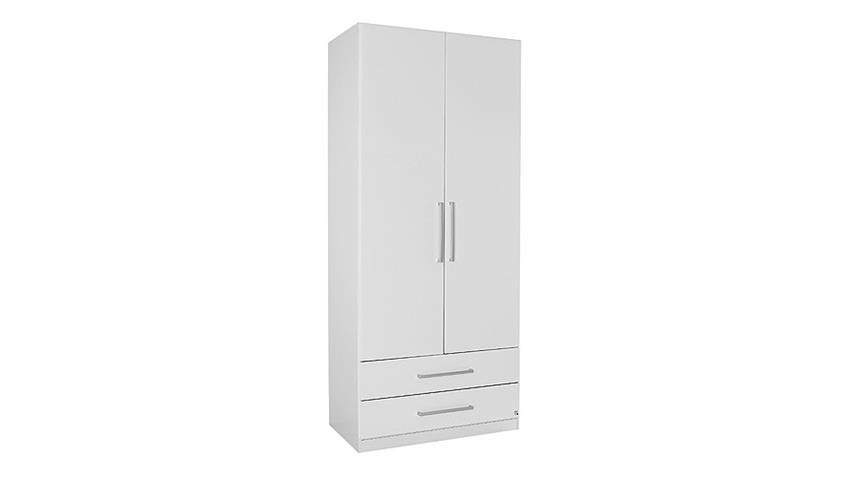 Kleiderschrank POTSDAM Schrank Schlafzimmerschrank in weiß