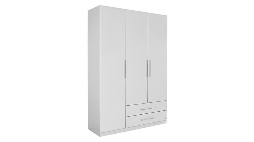 Kleiderschrank POTSDAM Schlafzimmerschrank in weiß 136