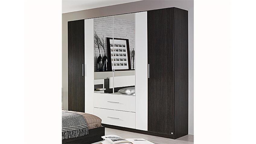 Schlafzimmer-Set BUSTAS Schlafzimmer in Wenge und weiß