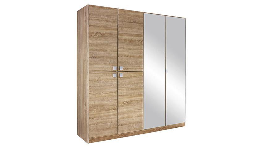 Kleiderschrank CARIA Eiche Sonoma mit Spiegel B 181 cm