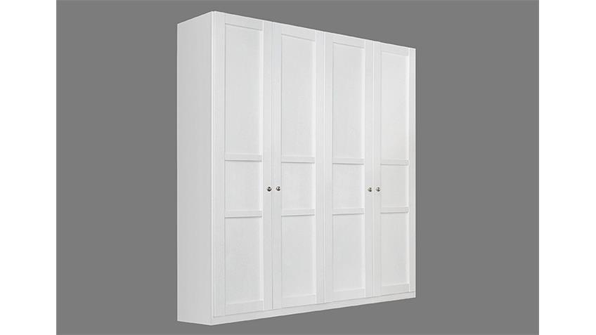 kleiderschrank marit wei mit 4 t ren breite 181 cm. Black Bedroom Furniture Sets. Home Design Ideas