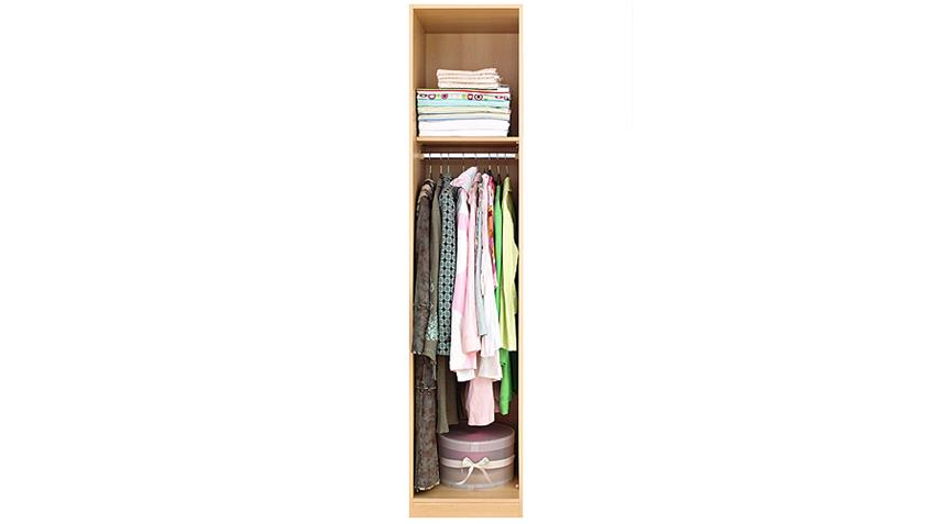 Kleiderschrank Prima 4You mit 1 Tür Buche hell B 47 cm