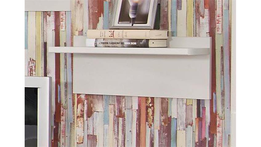 Wandboard MANJA Weiß Breite 47 cm