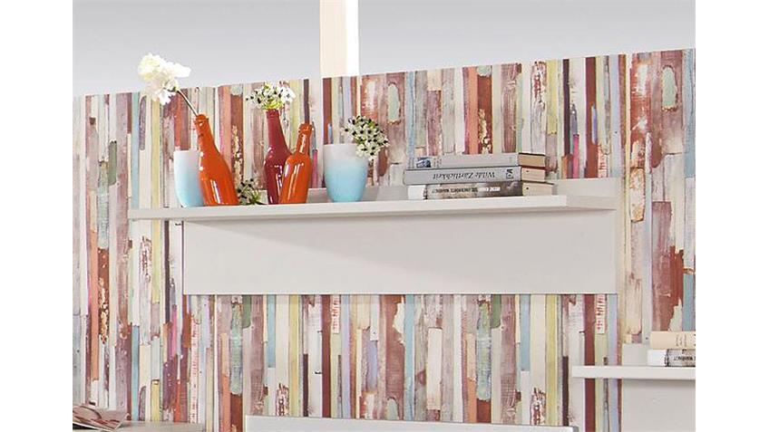 Wandboard MANJA Weiß Breite 92 cm