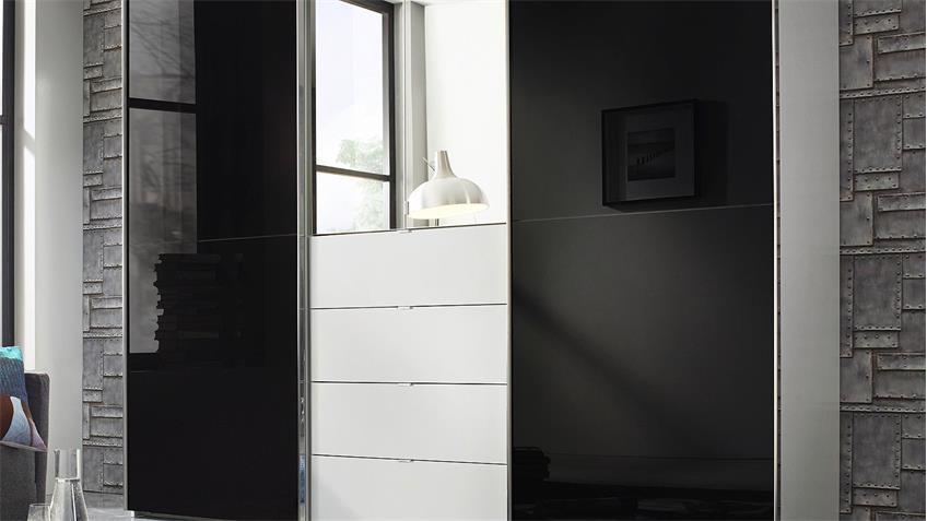 Nauhuri.com | Kleiderschrank Weiß Hochglanz Mit Spiegel ~ Neuesten ... | {Kleiderschrank weiß schwarz mit spiegel 66}