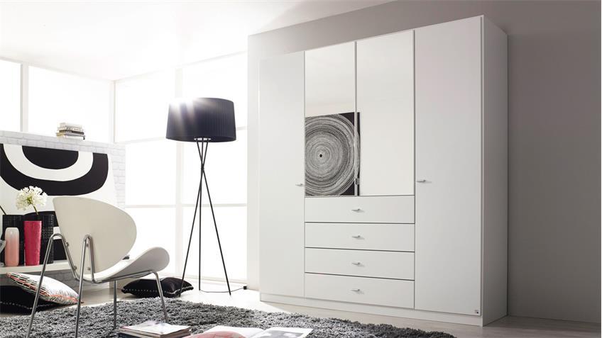 Kleiderschrank Sinsheim Schrank in weiß 181 cm