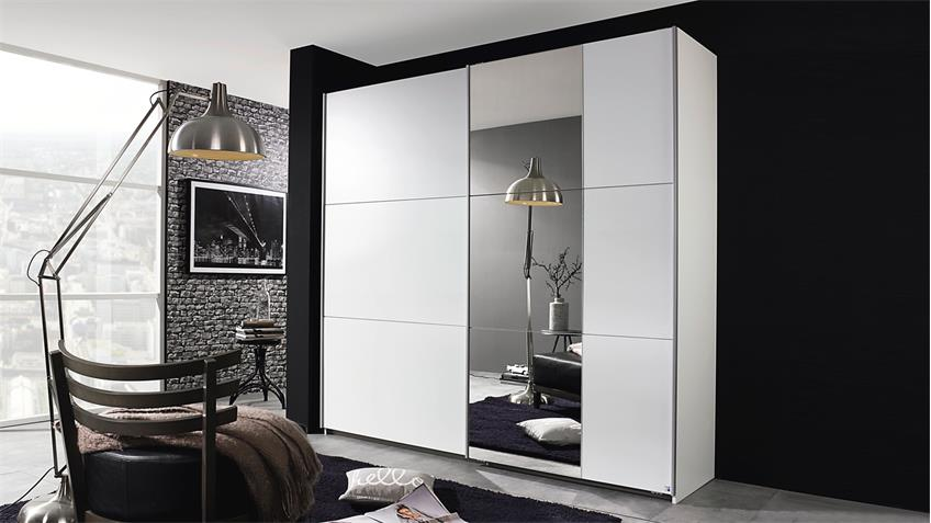 schwebet renschrank kronach in wei mit spiegel 261. Black Bedroom Furniture Sets. Home Design Ideas