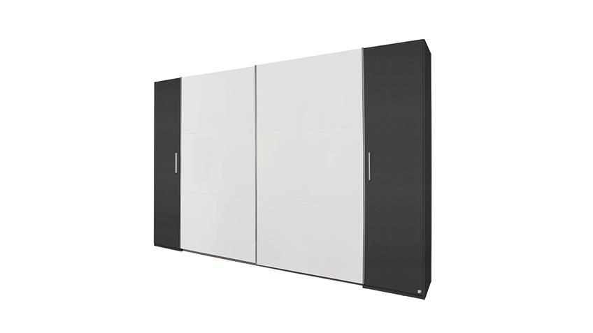 schwebet renschrank kronach grau metallic und wei 312. Black Bedroom Furniture Sets. Home Design Ideas