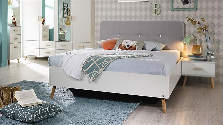 bett annett f r jugendzimmer in wei und esche coimbra. Black Bedroom Furniture Sets. Home Design Ideas