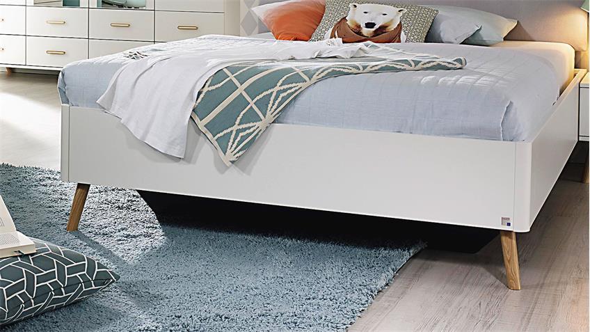 bett annett f r jugendzimmer in wei und esche coimbra massiv 140x200. Black Bedroom Furniture Sets. Home Design Ideas
