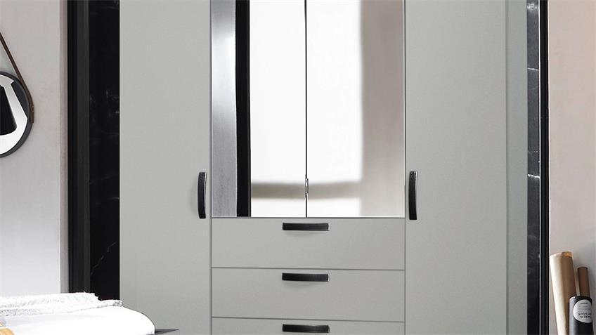 Kleiderschrank YourJOYce Schranksystem grau 201x222 cm