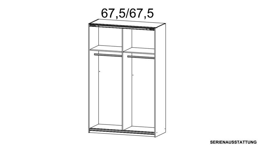 Zubehör Premium Inneneinteilung für QUADRA 136 cm