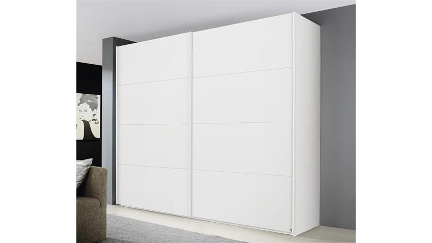 Schwebetürenschrank BELUGA-EXTRA weiß Schrank 270 cm