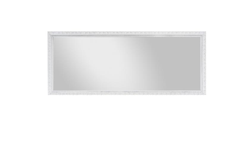 rahmenspiegel pius antik wei wandspiegel 70x170 cm. Black Bedroom Furniture Sets. Home Design Ideas