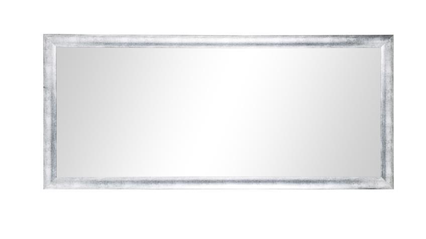 spiegel diane wandspiegel mit rahmen in altsilber 80x180 cm. Black Bedroom Furniture Sets. Home Design Ideas