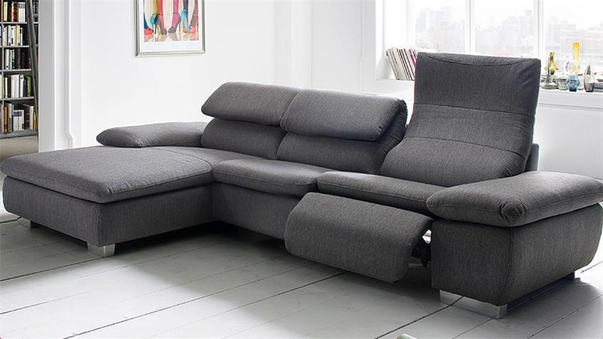 wohnlandschaft mit relaxfunktion carprola for. Black Bedroom Furniture Sets. Home Design Ideas
