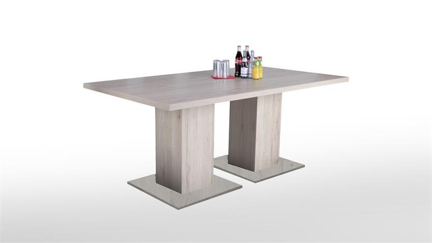 Esstisch ADAME Tisch Esszimmertisch in Sonoma Eiche 180x100