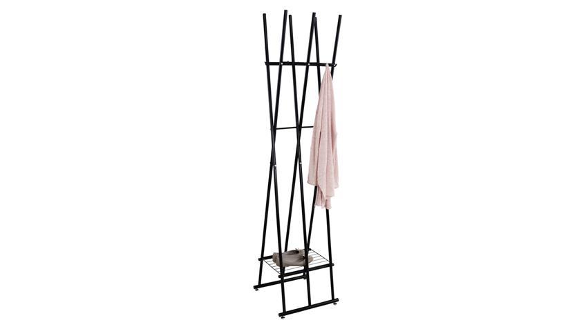 kleiderst nder tom garderobenst nder metall schwarz lackiert. Black Bedroom Furniture Sets. Home Design Ideas