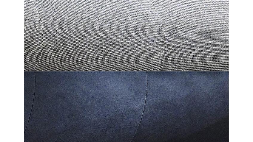 Ecksofa ZENZO grau inkl. Kissen Rec rechts 303x175