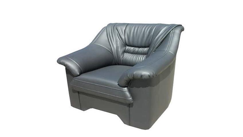 Sessel milano fernsehsessel grau for Fernsehsessel stoff grau