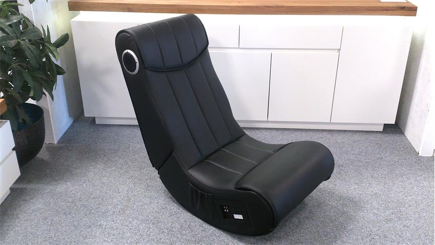 Soundsessel Gaming Chair Soundz schwarz Playstation XBox
