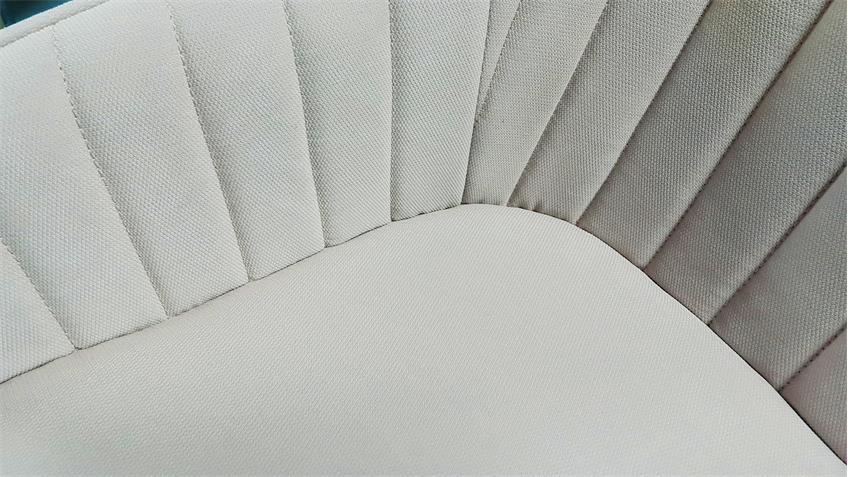 Armlehnstuhl Swivel gepolsterter Esszimmerstuhl in soft mint