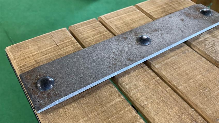 Regal Standregal mit Metallgestell in schwarz Vintage