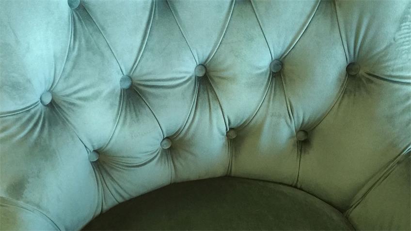 Loungesessel VELVET Samtstoff grün Sessel waldgrün