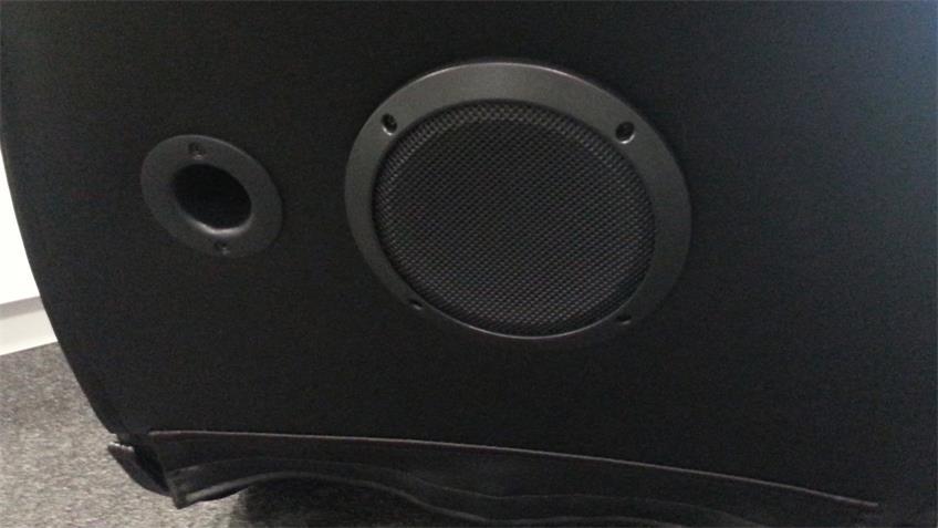 Soundsessel Speedy Gaming Chair Bluetooth schwarz rot