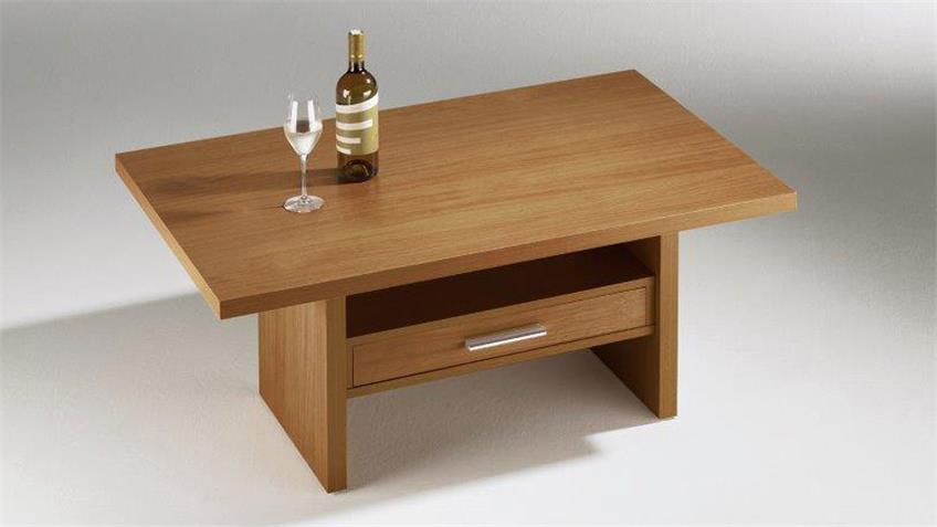 Couchtisch 110x70 ANGELA Nussbaum Dekor Tisch