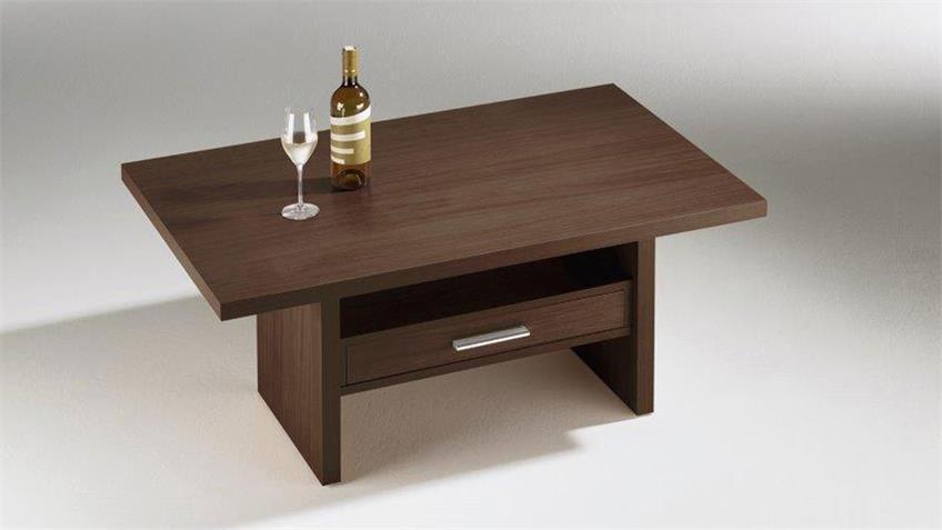 Couchtisch ANGELA 110x70 cm Tisch Wenge Dekor