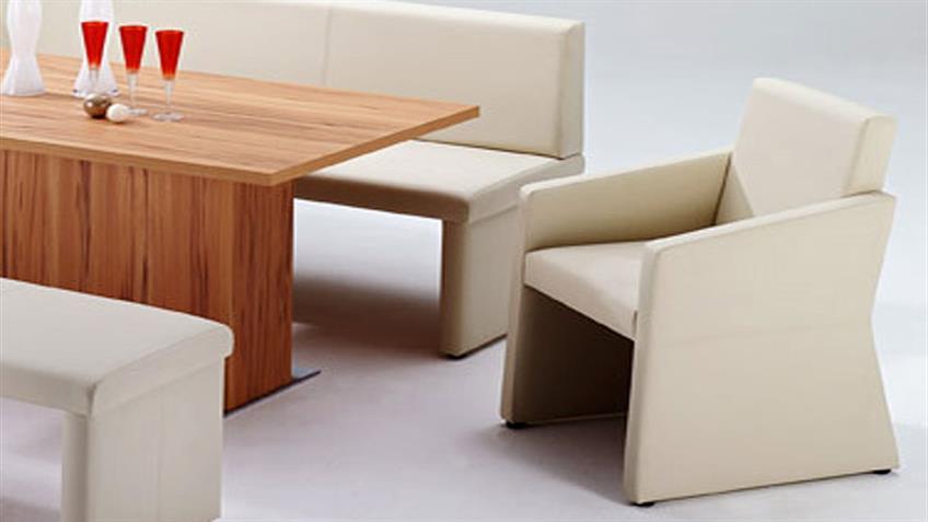 Polstersessel QUADRO komplett bezogen Sessel in beige