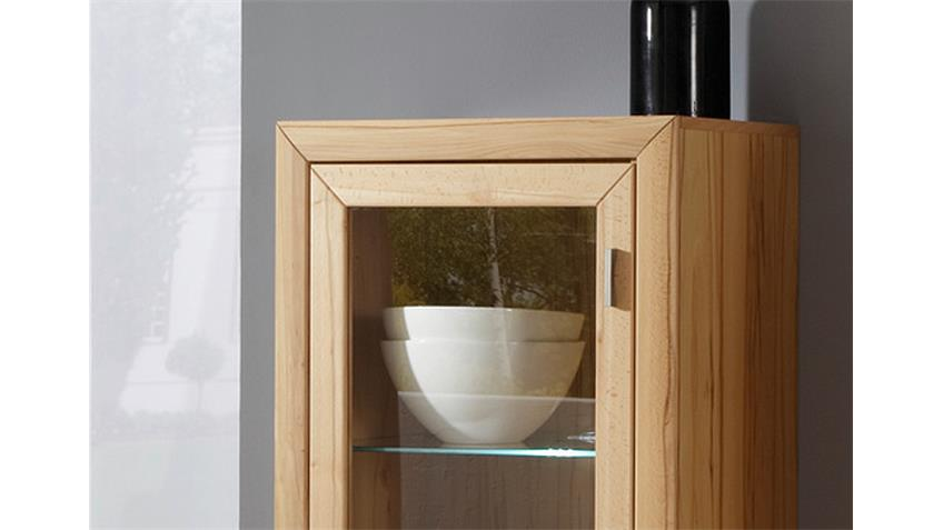 Highboard PASSEPARTOUT 04/L Vitrine in Kernbuche massiv