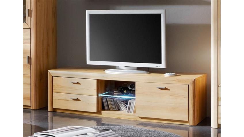 TV Board PASSEPARTOUT 02 Kernbuche massiv Lowboard
