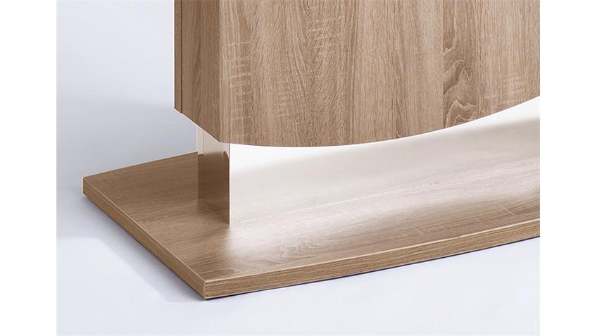 Esstisch KONKAV Tisch in Eiche sägerau Dekor 160x90 cm
