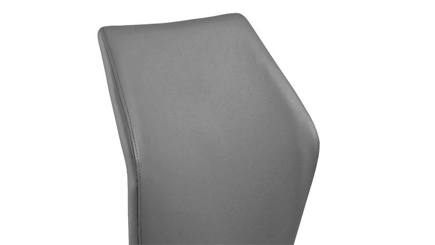 Schwingstuhl SNAP 01 4er-Set Esszimmerstuhl in grau