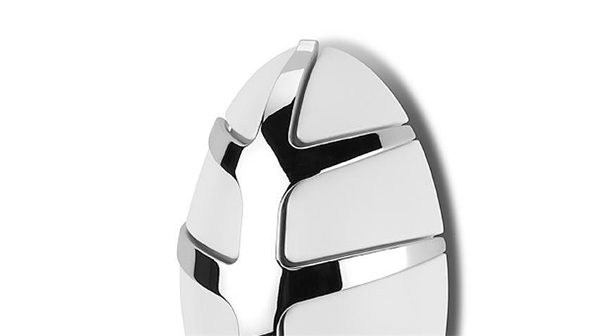 Garderobe BUG Spinder Design Wandgarderobe weiß und Chrom