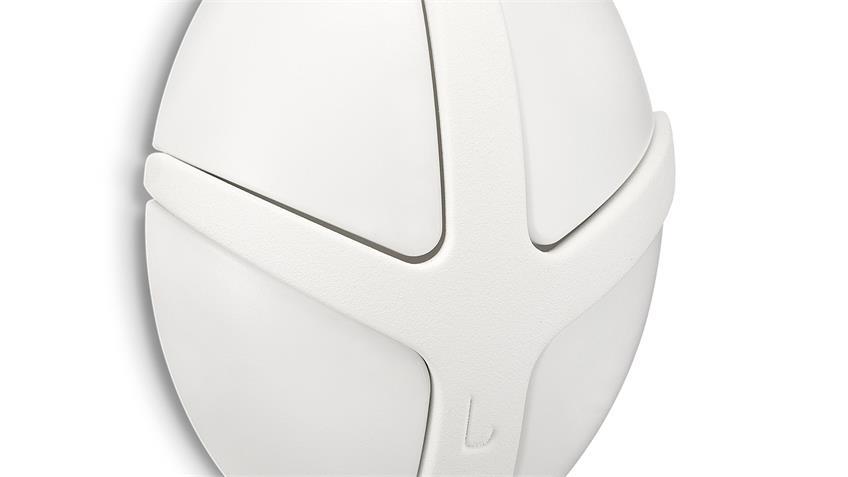Garderobe TICK Spinder Design Wandgarderobe Wandhaken in weiß