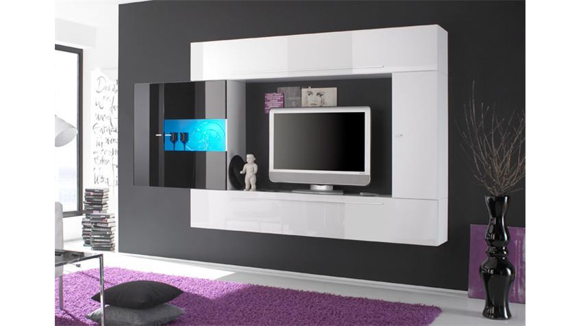 A ABW Primo Kombi AN weiß-schwarz echt HG lackiert