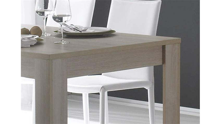 Esstisch RUSTICA Tisch in Sonoma Eiche Melamin 180x90 cm