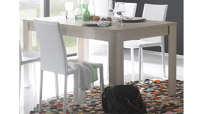 Esstisch RUSTICA Tisch in Sonoma Eiche Melamin 160x90 cm