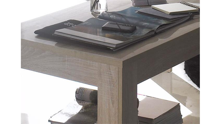 couchtisch i rustica beistelltisch in sonoma eiche melamin. Black Bedroom Furniture Sets. Home Design Ideas