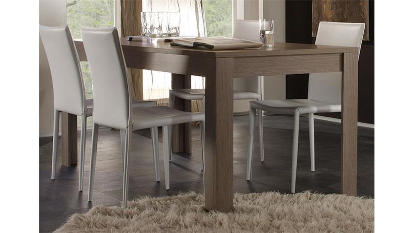 Esstisch EOS Tisch Küchentisch in Eiche Grau Dekor 160x90