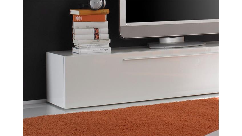 TV-Lowboard PRIMO weiß echt hochglanz lackiert