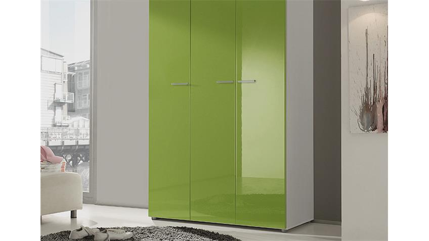 kleiderschrank wei hochglanz schiebet r. Black Bedroom Furniture Sets. Home Design Ideas